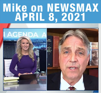 Mike on April Newsmax